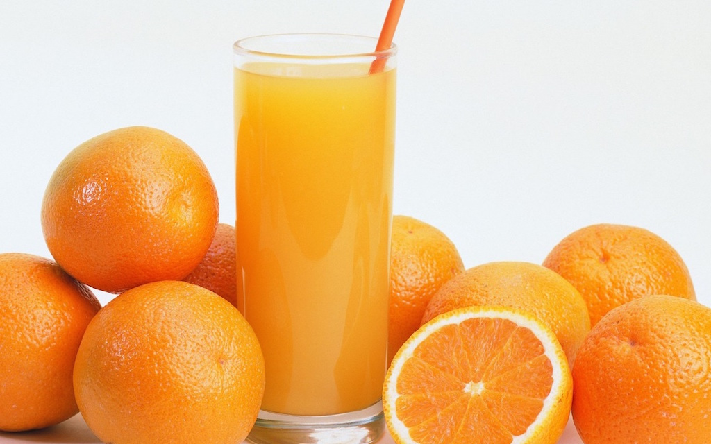Caja de Naranjas de Zumo