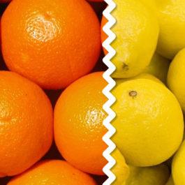 Caja Mixta 10 kg naranjas mesa + 5kg limones