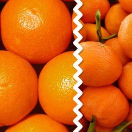 Caja Mixta 10 kg naranjas mesa+ 5 kg mandarinas