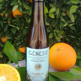 Cerveza artesanal de naranja valenciana