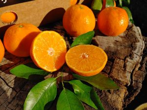 Box of clemenules tangerines 10 kg
